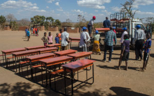 Africa Vital Living 2016 School Desk Delivery