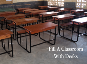 Africa Vital Living Fund Desks In The Classroom