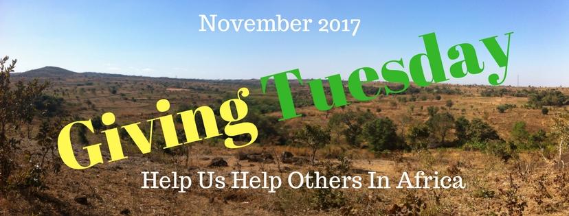 2017 November 28 – Giving Tuesday
