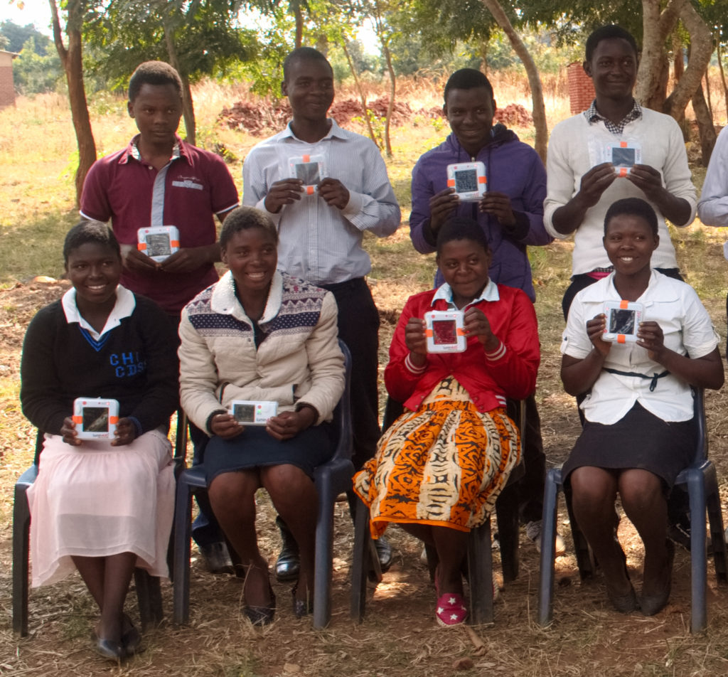 AVL 2017 Students w Solar Lights